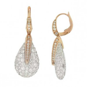 hinged gold and back post cvqvjmq silhouette rebecca minkoff at textured nice wide a elegant earrings women hoop