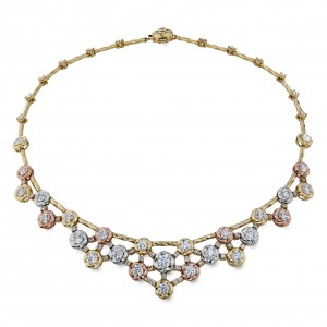 2A Atlantico Tri-Color Necklace-angle