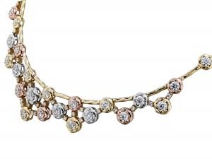 2B Atlantico Tri-Color Necklace-detail