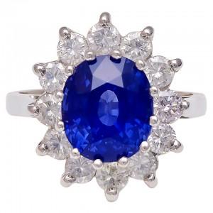 3 Sapphire Ring- estate