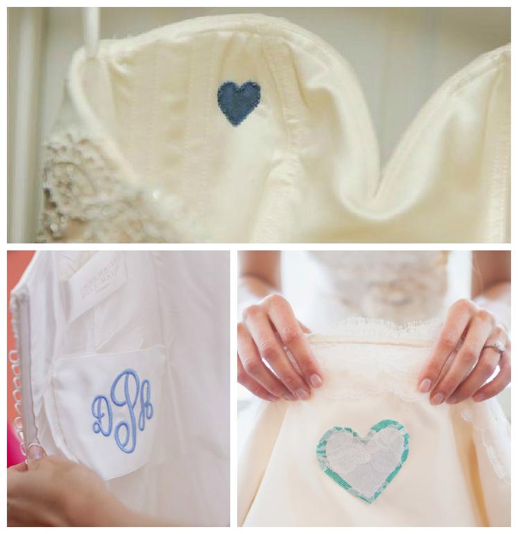 4 Blue Stitching