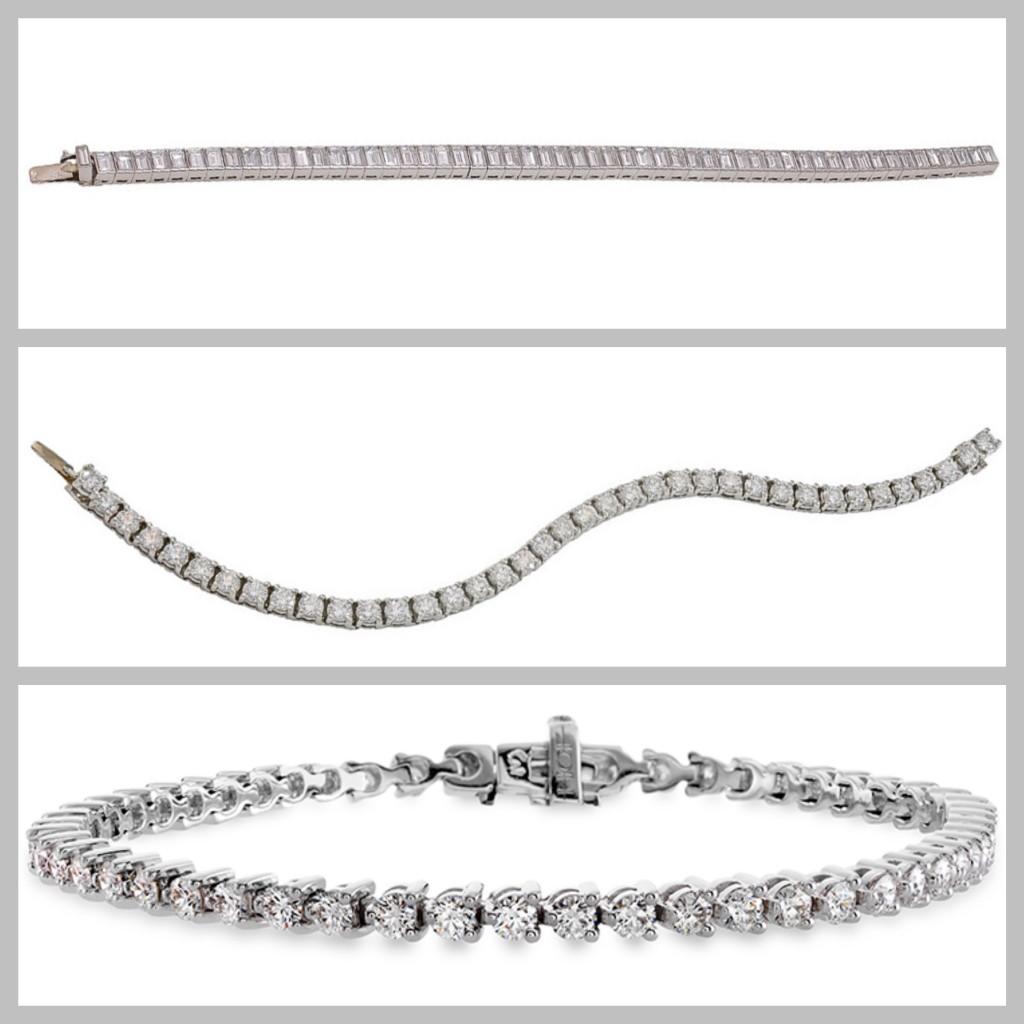 * 1 timeless tennis bracelets