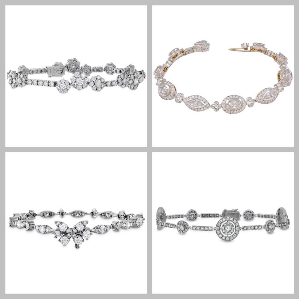 * 2 Dazzle Dia Bracelets V3
