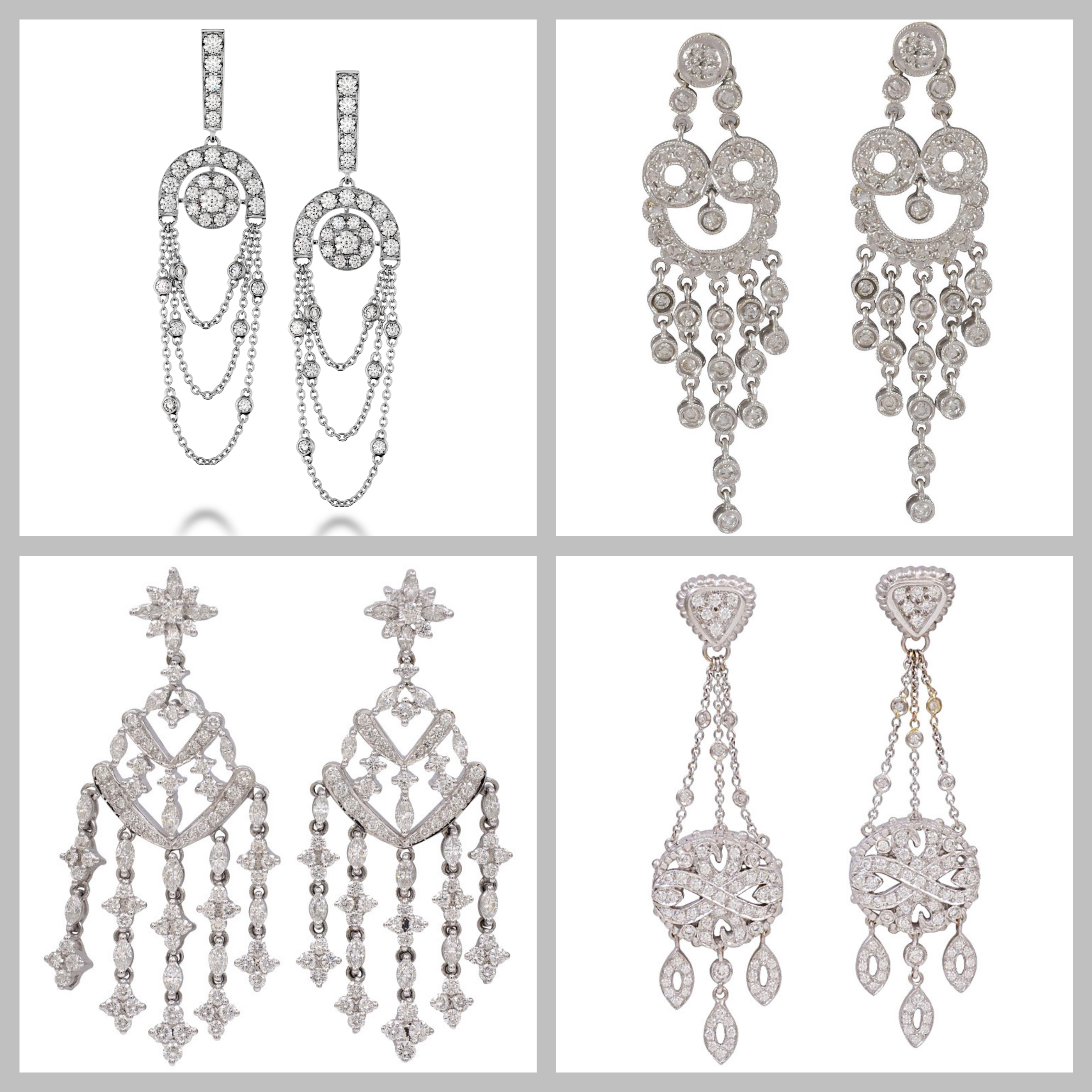 in crystal earrings product mixed gallery crew jewellery jcrew metallic lyst normal j jewelry chandelier